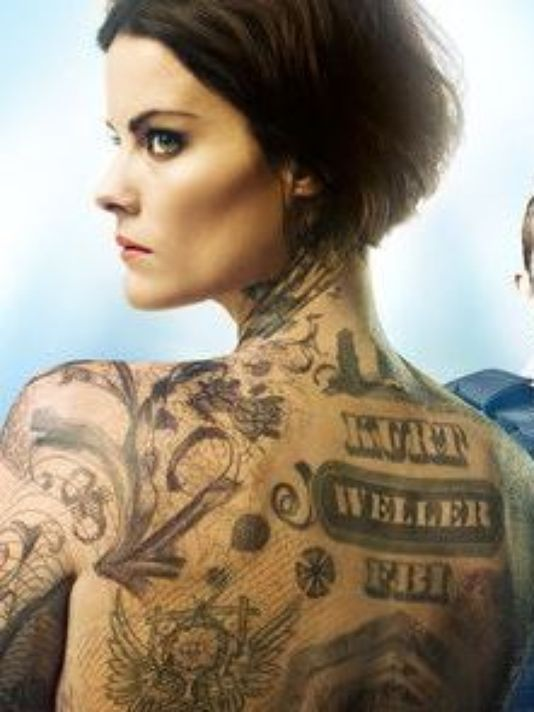 Behind the scenes of 39 blindspot 39 with jaimie alexander for Topless tattoo girls