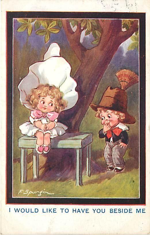 Fred Spurgin card, 1916 | eBay: