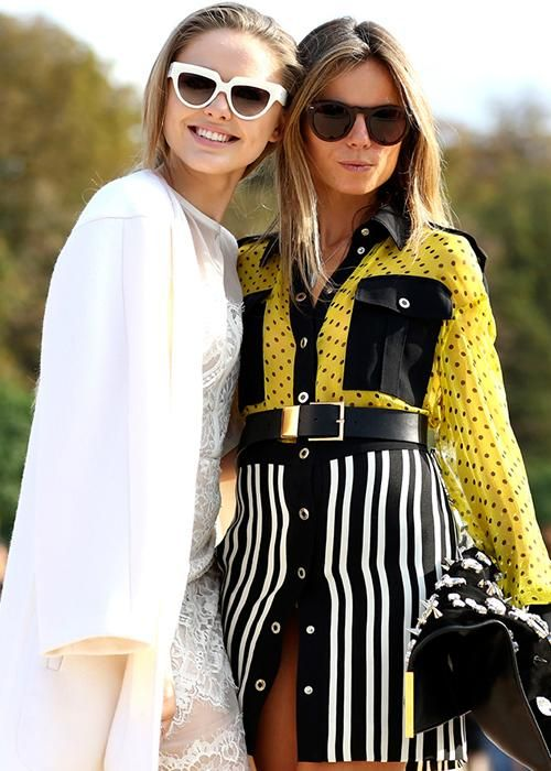 13 new ways to wear sunglasses – street style inspiration - Elle Canada