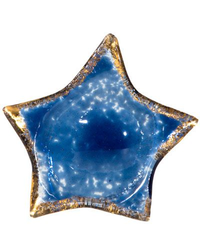Set of 4 Beach Glass Star Table Rests
