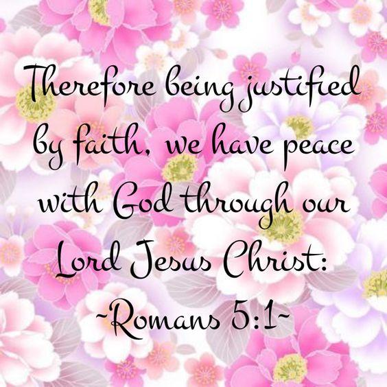 ~Romans 5:1~: