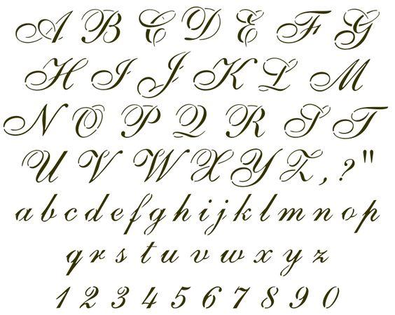 Explore stencil letters cursive letters and more