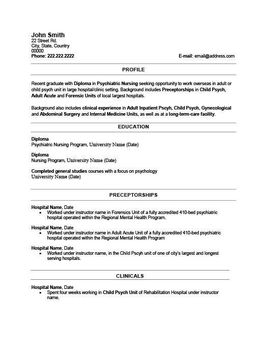 Recent Graduate Resume Template Premium Resume Samples Example Resume Template Resume Resume Design Template
