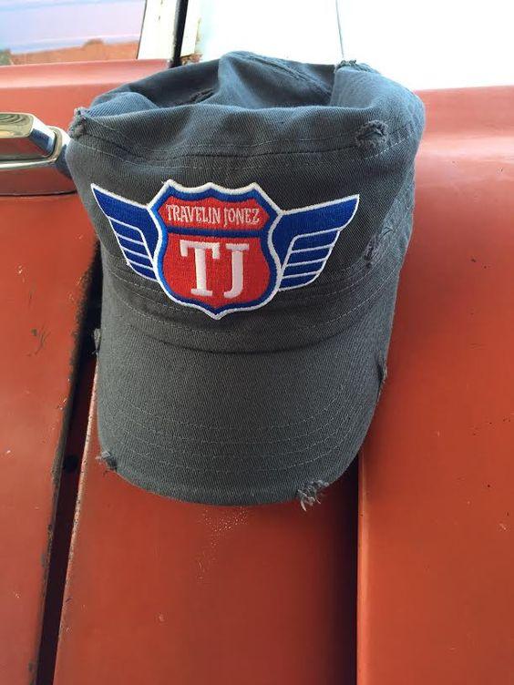 Grey Cadet with Travelin Jonez Logo Patch