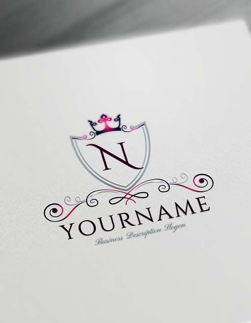 Online Luxurious Royal Logo Design Free Logo Maker Initials Logo Design Logo Design Free Royal Logo