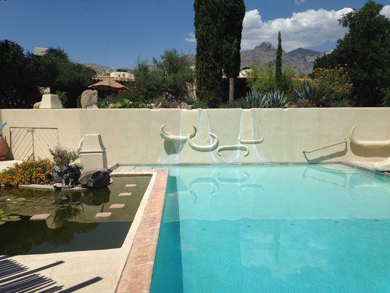 Catalina Foothills Condominium complex by architect Juan Worner y Bas, Tucson, Arizona.