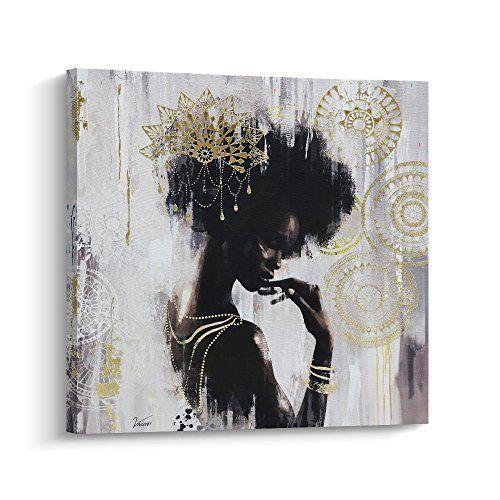 Pi Art African American Art Wall Decor Canvas Wall Art N Https Www Amazon Com Dp B07f6yvwjl Re African American Wall Art African Wall Art Canvas Wall Art