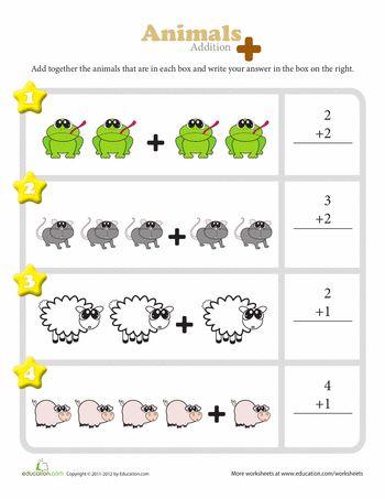 worksheets kindergarten and animal food on pinterest. Black Bedroom Furniture Sets. Home Design Ideas