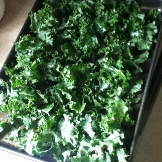 Kale! Made kale chips today =)