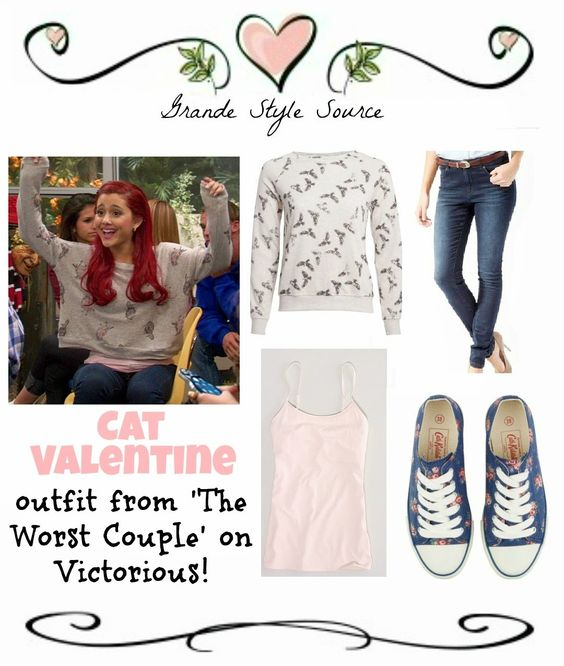 cat valentine outfits