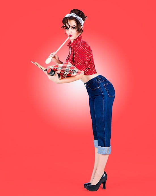 pin up en jean