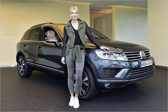 Lena Gercke: VW Touareg