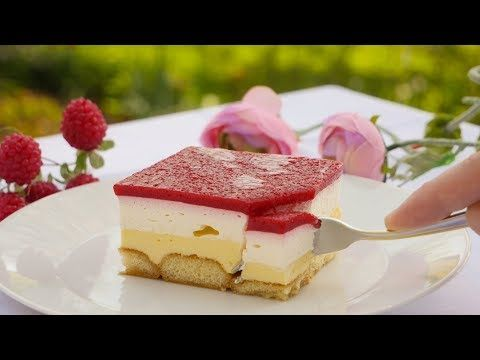 Rezept Himbeer Schnitten Mit Vanillecreme Kuchen Ohne Backen Diese Fruchtig Cremigen Himbeer S Kuchen Ohne Backen Schokoladenkuchen Rezept Kuchen Und Torten