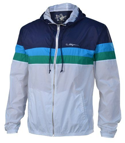 True Religion Brand Jeans Men&39s Nylon Windbreaker Jacket-Dark Navy