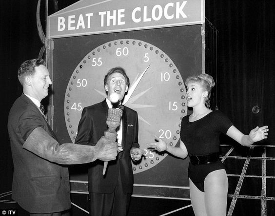 It had the X Factor: ITV's Sunday Night At The Palladium - Beat The Clock with Bruce Forsyth was one of the more popular TV shows in the Fifties
