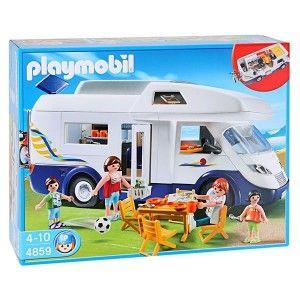 Grand Camping Car Familial  - marque : PLAYMOBIL Un Camping Car Playmobil tres réaliste, avec beaucoup de rangements et de nombreux accessoires. Des heures de jeu en perspective !... prix : 63,74 €  chez Jeprogresse.com #PLAYMOBIL #Jeprogresse.com