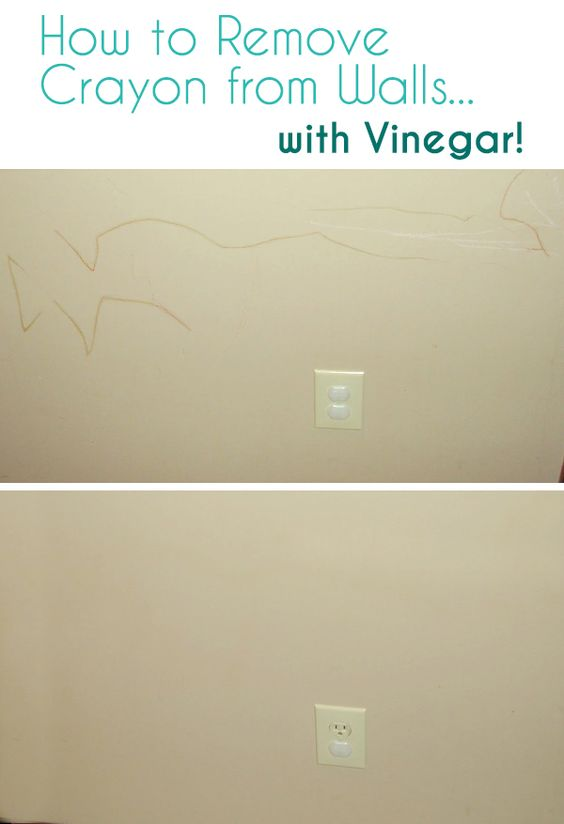 How to remove to remove and crayons on pinterest - Remove crayon walls ...