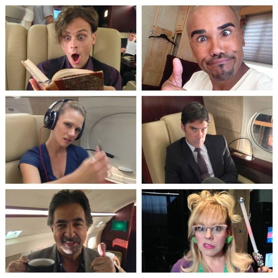 When we're not chasing UNSUBS we are getting our GOOFBALL ON!!!! We LOVE ALL OUR FANS!!!! Thank You for ALLOWING us to scare you, creep you out and entertain you for 9 years!!!! CM fans are the BEST!!!! #CriminalMindsWednesdays #CM9 - Shemar