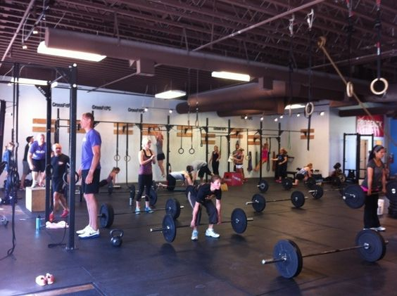 Crossfit Park City - love to hate it!