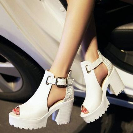 zapatos con plataforma primavera verano 2016 - Buscar con Google: