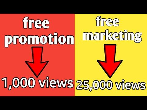 Got 25 000 Views How To Promote Your Youtube Channel Free Promotion Tricks Promotion Strategy Y Promotion Strategy You Youtube Promotional Products Marketing