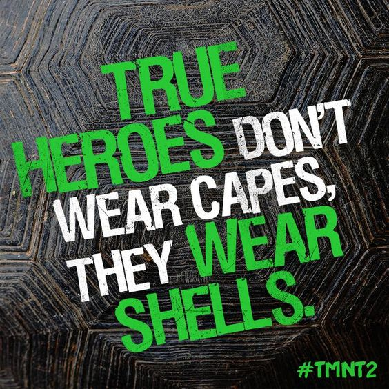 Heroes in a half shell. #TMNT2 #Brothers