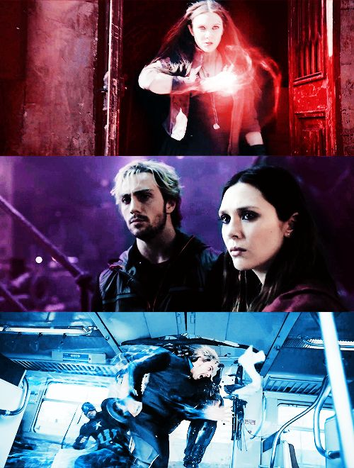 Scarlet Witch and Quicksilver: the Maximoff siblings