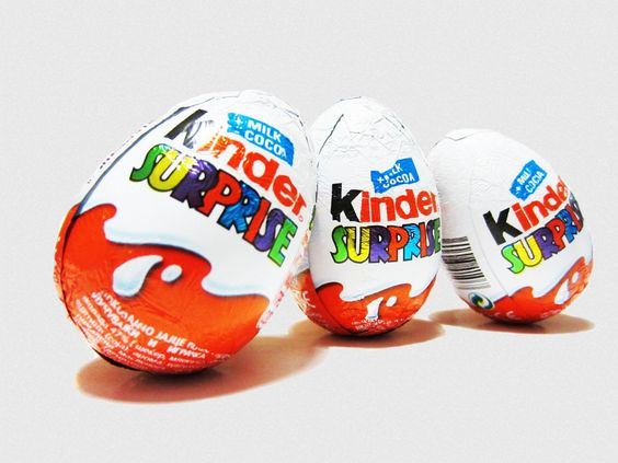 Surprise Eggs 2016 - 5 Kinder Surprise 4 Surprise Eggs Cars 2