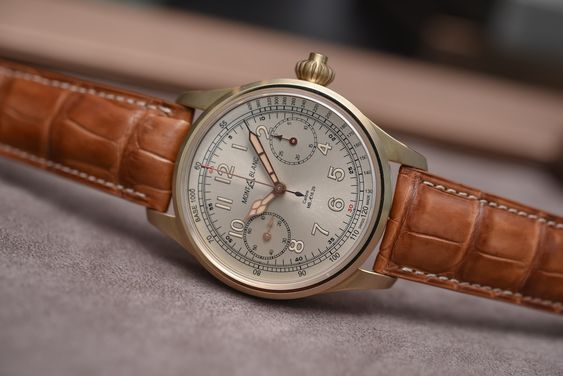 Buying Guide Bronze Watches - Montblanc 1858 Chronograph Tachymeter Bronze
