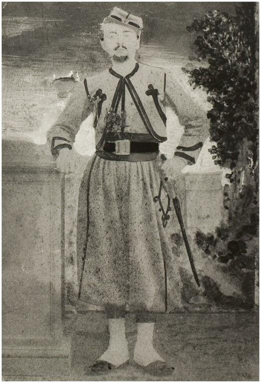 Antoon Taabe, ( Eindhoven 10.12.1838 Helmond 18.4.1898 ; gehuwd met Francisca van Griensven ). Pauselijk Zouaaf ( legernummer 2150 ) van 3.2.1866 tot 16.2.1868. Onderscheiden met het zilveren Menton kruis en de bronzen Bene Merenti medaille - Leo van der Zanden