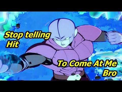 Dbfz Season 3 Someone Tell Hit To Stop Youtube Season 3 Seasons Hit