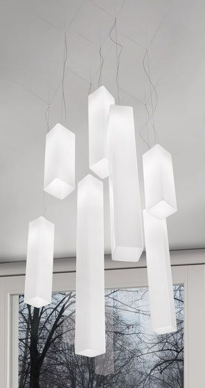 General lighting | Suspended lights | Tubes | Vistosi | Matthias. Check it out on Architonic