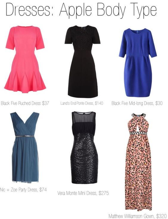 Dresses Apple Body Type