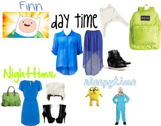 """""""Finn the Human Outfits"""" by kassidy13jean on Polyvore"""