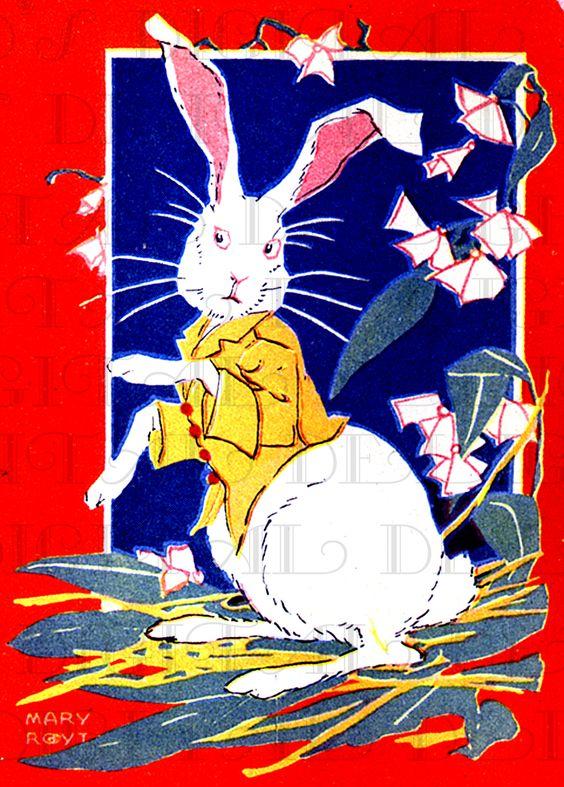 Pawsing bunny.