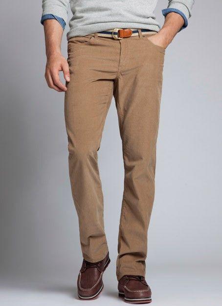 what to wear with khaki corduroy pants - Pi Pants