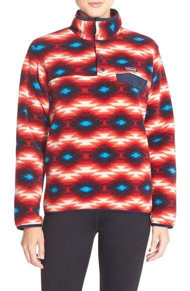 Patagonia Patagonia 'Synchilla' Lightweight Pullover available at #Nordstrom