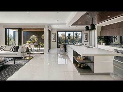 Beautiful Open Space Plan Layout Design Ideas Youtube In 2021 Luxury Kitchen Design Minimalist Kitchen Design Open Plan Kitchen Dining Living Modern living rooms and kitchens