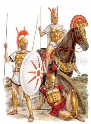 -0399 -0300 Samnite soldiers at the end of IV century B.C.E.