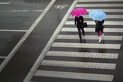 Sicher nicht ganz ernst zu nehmen, aber ein wahrer Kern steckt drin:     Du bist, wie du die Straße überquerst.