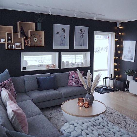 13 Idees De Canape De Salon En 2020 Deco Maison Decoration Salon Salon Canape