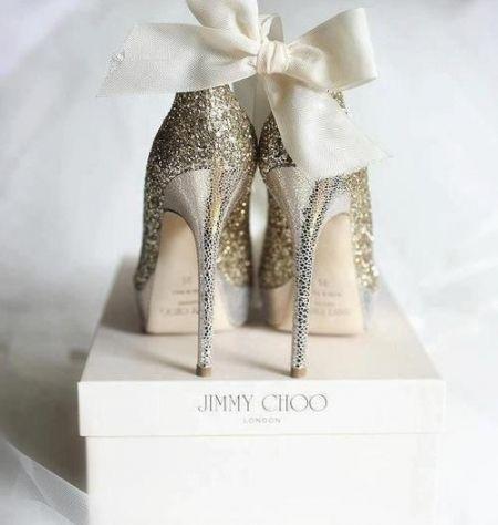 Chaussures Jimmy Choo #mariage #mariée