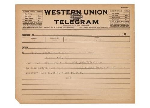 Does this telegram from the Titanic change history? (video)