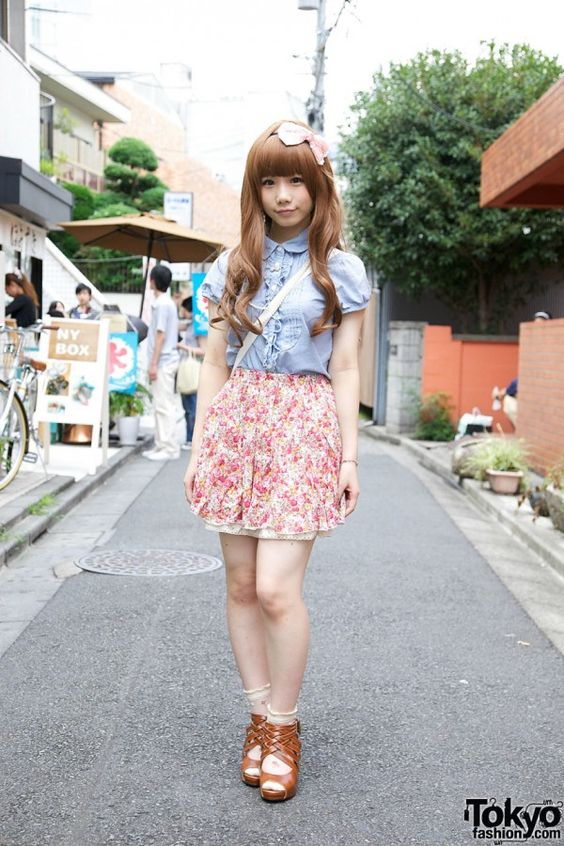 gyaru outfit | Gyaru e gyaru-o (la versione maschile) a Shibuya! Mi piace un sacco ...