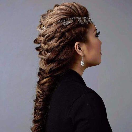 50 Geflochtene Mohawk Frisuren Frauen Blog Mohawk Frisur Haar Styling Geflochtene Haare