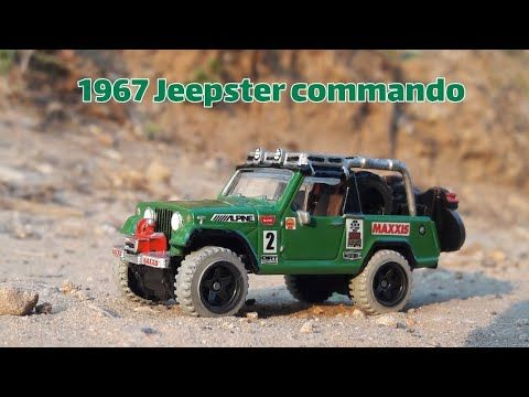 Sharon Tarshish Channel Custom Hotwheels 1967 Jeepster Commando Full Build Video Youtube 3 24 2019 Jeepster Commando Jeepster Commando
