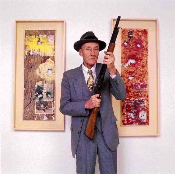 William S Burroughs  12 Gauge Paintings at the Bohemian Gallery