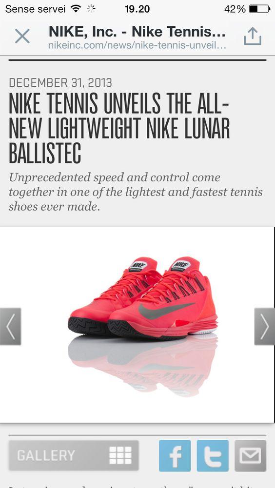02813cd4f6e ... lightweight design specifically engineered for Nike Air Max  Courtballistec 4.3 Nike Mens Tennis Shoes Orangewhiteblack Oozz Pinterest  Air max
