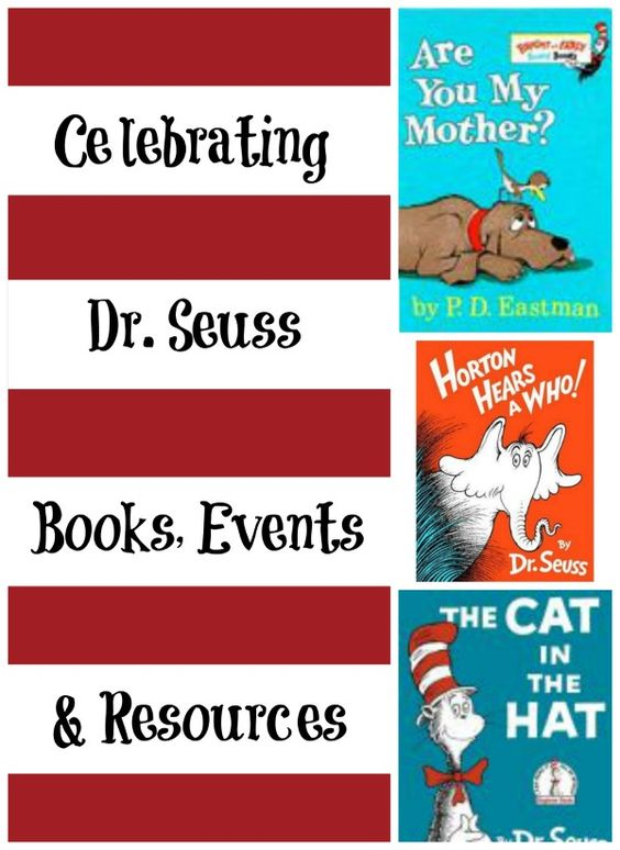 Activities, free printables and more great ideas and resources for celebrating the Cat in the Hat & the wonderful books of Dr. Seuss!