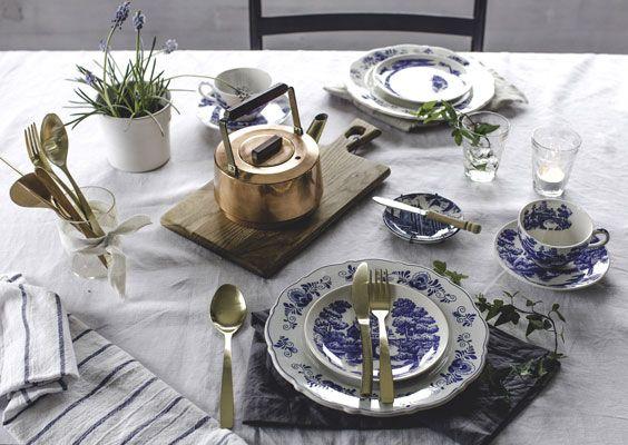 Slik gjør du klart bordet til årets første vårlunsj